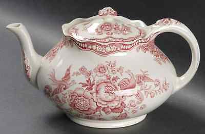 Crown Ducal BRISTOL PINK Tea Pot 91698