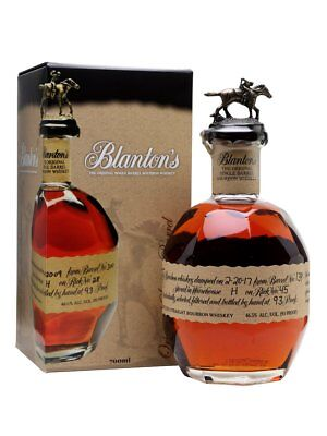 "Blantons Original Single Barrel One ""Empty"" & One Empty W/ Choice Stopper"