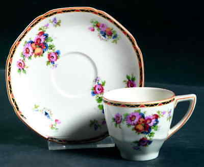 Crown Ducal 1504 Demitasse Cup & Saucer 3551375