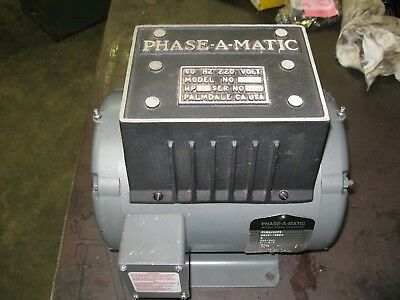 Phase-A-Matic R-3 Rotary Phase Converter 3 Hp