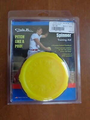 Spin Recht Spinner Fastpitch Pitching Trainingshilfe Baseball Softball Gelb