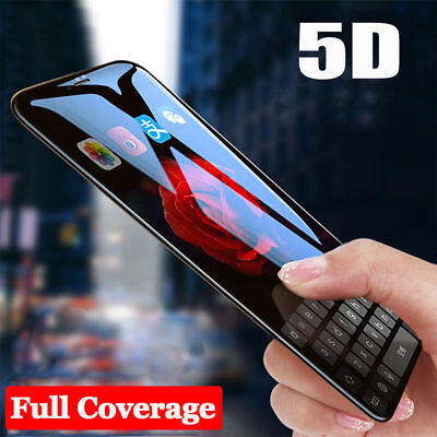 5D Curved Full Cover Tempered Glass Screen Protector Film For iPhone 8 Plus 7 7+