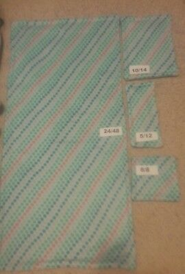 """PET Guinea Pig Cage Liner Midwest 2448"""" 4pc Kits! 3 Layers of Fleece & Uhual"""