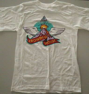 Vintage 90s Crowded House t shirt. Size M-L