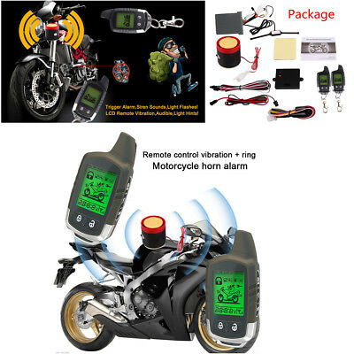 2-Way Car Alarm Security System Anti-theft LCD Long Distance Remote Engine Start