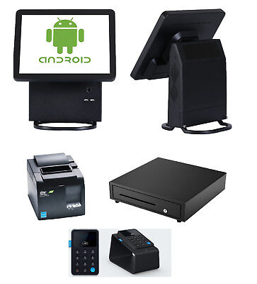 Black IZettle Complete Android Bundle Point Of Sale Solution