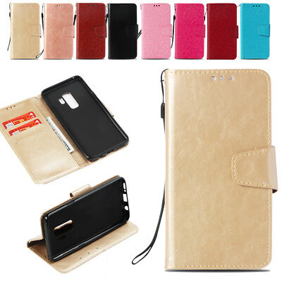 Magnetic PU Flip Stand Card Wallet Leather Case Cover For Huawei P20 Lite/Pro 7X