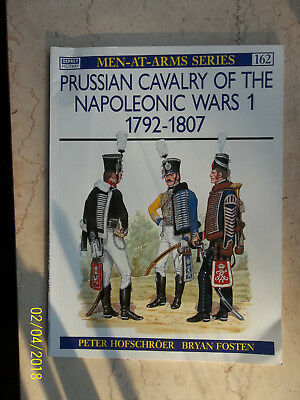 Prussian Cavalry of the Napoleonic Wars 1 1792, Men-At-Arms 162, Osprey Military