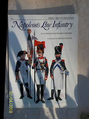 Napoleon's Line Infantry, Men-At-Arms 141, Osprey Military