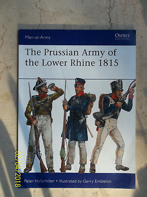 The Prussian Army of the Lower Rhine 1815, Men-At-Arms 496, Osprey Military