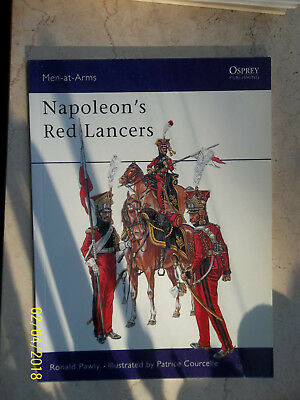 Napoleon's Red Lancers Men-At-Arms 389, Osprey Military
