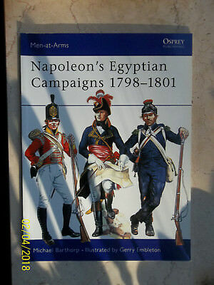 Napoleon's Egyptian Campaigns 1798-1801, Men-At-Arms 79, Osprey Military
