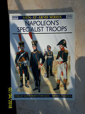 Napoleon's Specialist Troops, Men-At-Arms 199, Osprey Military
