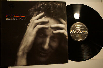 LP DAVID BAERWALD - Bedtime Stories Org DE 1990 MINT/- Folk/Rock/Country