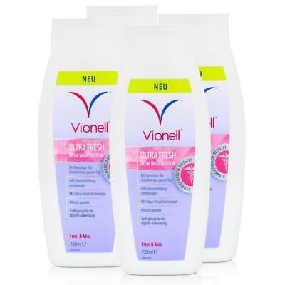 Vionell UltraFresh Intim Washlotion, 4er Pack (4 x 250 ml)