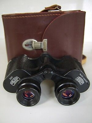Carl Zeiss Jena 8x30 Binoculars Jenopten Excellent Condition IN ORIGINAL CASE
