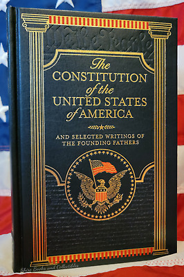 NEW SEALED The Constitution of the US of America & Other Writings Bonded Leather