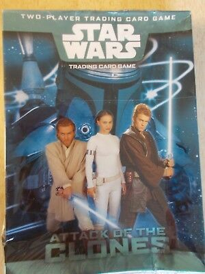 Star Wars - Attack of The Clones - 2 player Trading Card Game