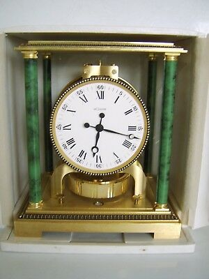 Rare Vinatge Vendome Jaeger Le Coultre Atmos Clock -Original Box Perfect Working