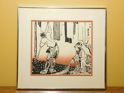 Antique Chinese Signed Ink Brush Painting - Professionally Framed - 1 of 3
