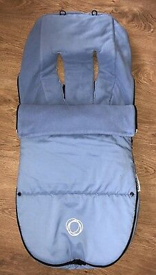 Bugaboo Gorgeous Ice Blue Footmuff Cosytoes! Stunning!