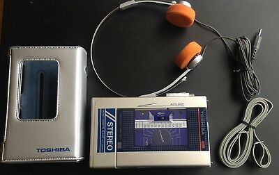 TOSHIBA RADIO CASSETTE PLAYER KT-S3 MKII *JAPAN*1980s VINTAGE RETRO COLLECTABLE*