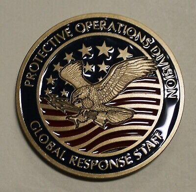 Central Intelligence Agency CIA Global Response Staff GRS Named Challenge Coin