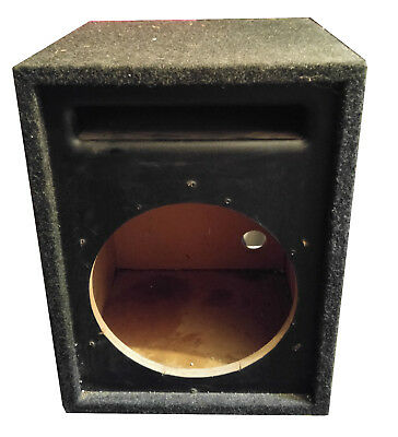 """12"""" inch 12 subwoofer speaker box enclosure VENTED PORTED CAR STEREO BASS SYSTEM"""
