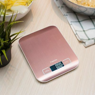 Luxury Stainless Steel LED Digital Scale For Food Kitchen Postal 11lb 5000g x1g