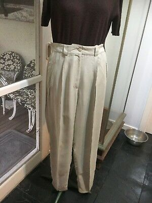 Vintage Cue Design Pants High waisted Size 10