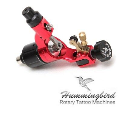 Hummingbird Rotary Tattoo Machine Gun Swiss Motor for Liner Shader Red