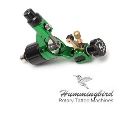 Hummingbird Rotary Tattoo Machine Gun Swiss Motor SR2 for RCA Liner Shader Green