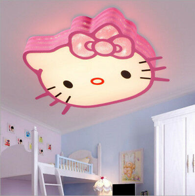 Neu Warmes Kitten Led Decken Lampe Kitty Kinder Led Deckenleuchte Kinderzimmer