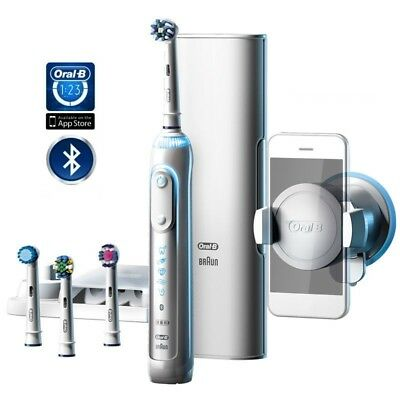 Braun Oral B Genius 9000 - Bluetooth with 4 Brush Heads included 3 Year Warranty