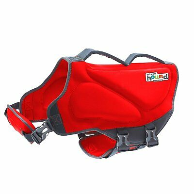 Outward Hound for Dogs Dawson Swim Life Jacket (XL) Red Extra Large 85-100 Lbs