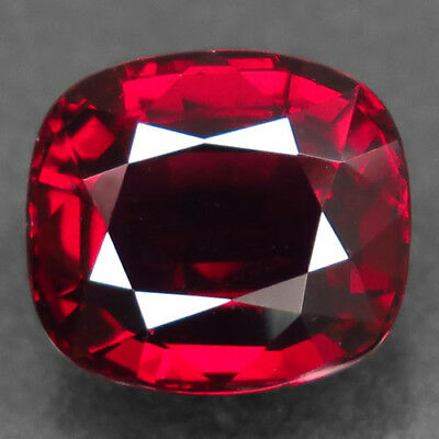 5.97ct.Shimmering Gem! 100%Natural Top Red Rhodolite Garnet Unheated AAA Nr!