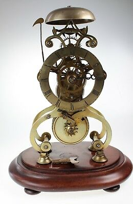 Stunning Skeleton Antique Clock Circa 1830