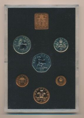 Great Britain: 1971 First Decimal 6-Coin Proof Set