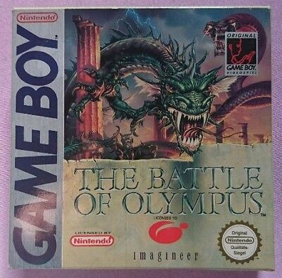 The Battle of Olympus Nintendo Gameboy OVP