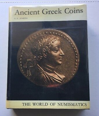 Ancient Greek Coins WORLD OF NUMISMATICS 1972 G.K. Jenkins PUTNAM'S Switzerland