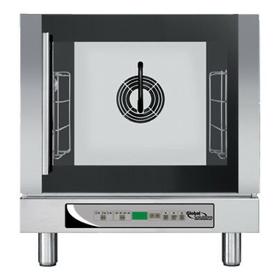 Global Solutions by Nemco GS1125 Countertop Convection Oven with Humidity/Steam