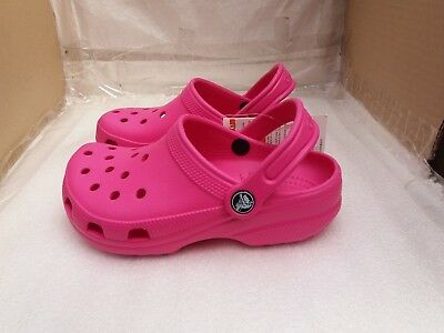 CHILDREN'S CROCBAND CROCS Fuchsia - Relaxed Fit - UK Size 1/EU 33