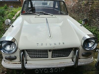 Triumph Herald 1200 Convertible (genuine CV chassis number)