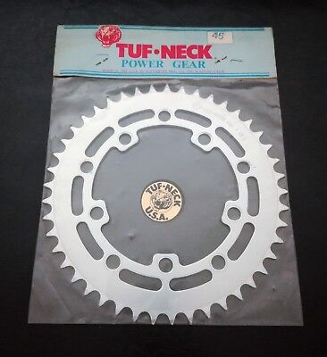 TUF NECK BMX POWER GEAR Chainring Plateau 45T - NOS - Old School, Competition