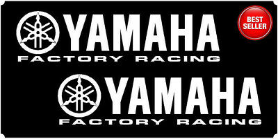 YAMAHA Factory Racing Belly Pan Vinyl Decals Stickers - R1 R6 YZF 200mm(20cm)