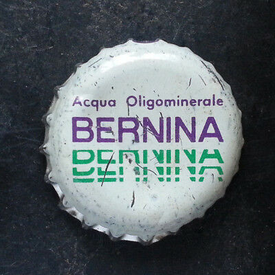 Bernina Piuro tappo acqua water bottle cap chapa agua Kronkorken