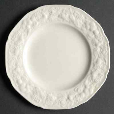 Crown Ducal FLORENTINE WHITE Bread & Butter Plate 92385