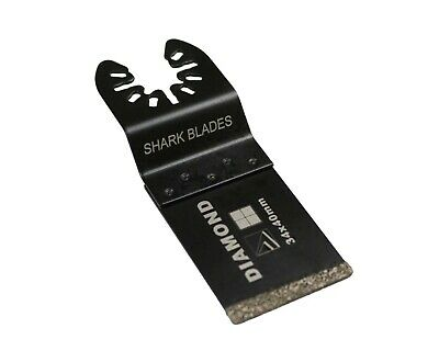 Diamond Coated Grit Blade for Oscillating Multi Tool By TOOLPAK