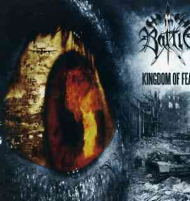 In Battle-Kingdom of Fear CD - gently used -  MORBID ANGEL and HATE E
