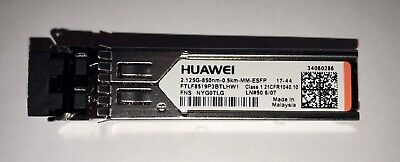 Original HUAWEI 2.125G-850NM-0.5KM-MM-ESFP FTLF8519P3BTLHW1 OPTICAL STICKS GBIC